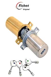 Fichet Original – Juego de cilindros – Cyl 2d 787- dorado